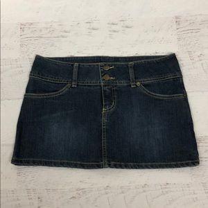 XXI Jean Skirt Large